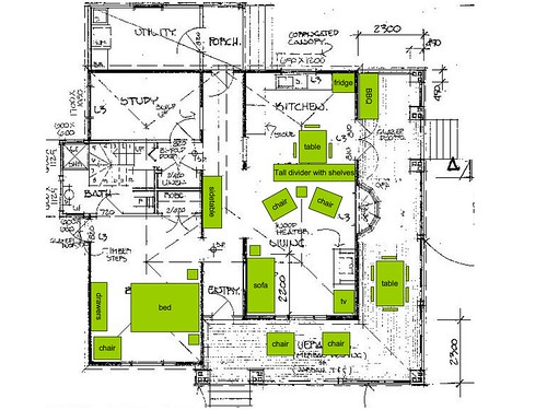 latest layout plan for old house