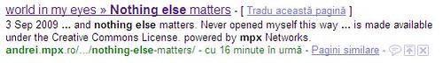 Google index speed