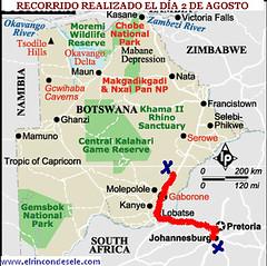 mapa recorrido sur africa dia 1 (josemiguel_80) Tags: