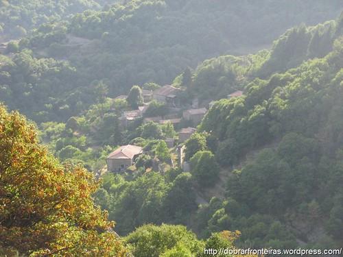 Parque natural das montanhas de Ardèche, França