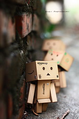 哇! (sⓘndy°) Tags: sanfrancisco toy toys box figure sensational figurine sindy kaiyodo yotsuba danbo revoltech danboard 紙箱人 阿楞 amazoncomjp