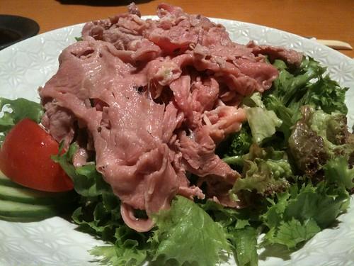 Beef Shabu Salad