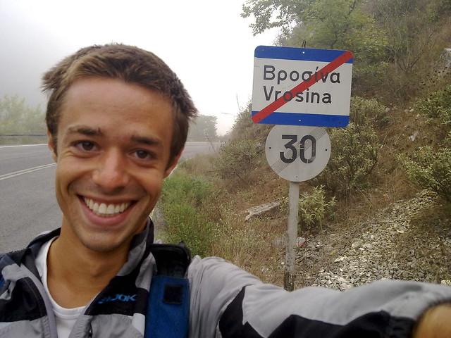 Leaving Vrosina