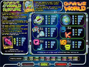 free Outta This World slot mini symbol