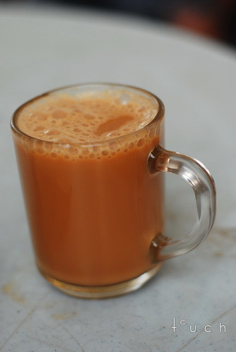 Teh Halia (Ginger Tea with milk)