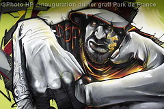 Inauguration du 1er graff Park de France - By Dark Elixir (Photograff92) Tags: park france flickr getty graff gettyimages manteslajolie darkelixir photograff92