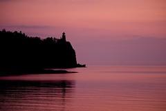 Split Rock at Dawn (pmarkham) Tags: minnesotahistoricalsociety minnesotastatepark sunrise dawn lighthouse beaverbay mn usa splitrocklighthouse splitrock lakesuperior northshore