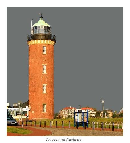 lighthouse hamburg landmark leuchtturm denkmal cuxhaven seezeichen