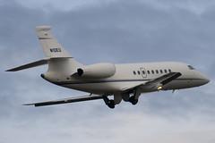 N10EU - Private - Dassault Falcon 2000EX - Luton - 090130 - Steven Gray - IMG_7647