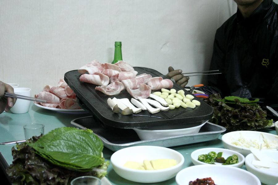 Samgyeobsal menu(1)