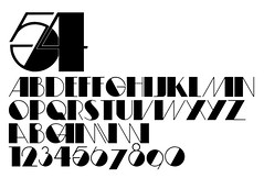custom font 54 (daylight444) Tags: original fonts typeface