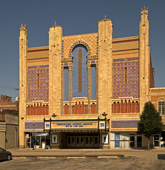 Missouri Theatre - Rare Hollywood-Oriental Style (FotoEdge) Tags: show classic movie theatre towers stjoseph style palace historic missouri ornate deco edmond bigscreen 1927 silentfilms fotoedge orientalhollywood bollerbrothers motheatre