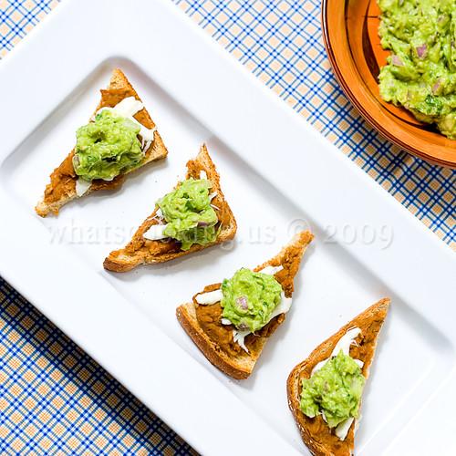Mini molletes