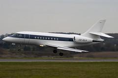 CS-DLH - 155 - Netjets Europe - Dassault Falcon 2000EX - Luton - 090331 - Steven Gray - IMG_2727
