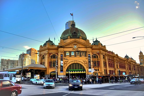 train station in melbourne
