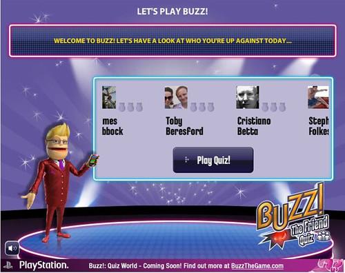 Buzz! The Friend Quiz