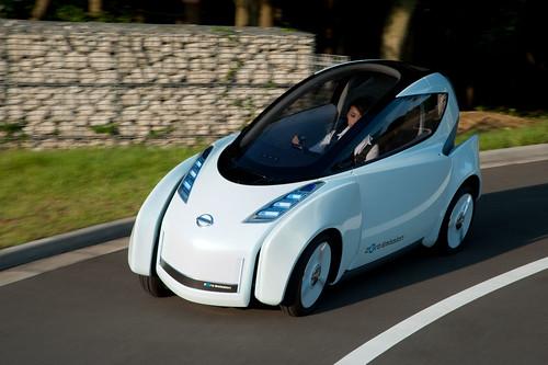 auto eléctrico Nissan Land Glider Ev