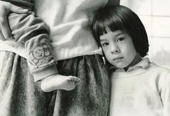 annie (motocchio) Tags: portrait people bw film monochrome child annie nikonf3 nikkor50mm fromarchives