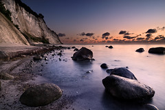 Dawn (mibreit) Tags: sea seascape water canon landscape denmark rocks landschaft dnemark moen felsen kreidefelsen mn eos40d alemdagqualityonlyclub
