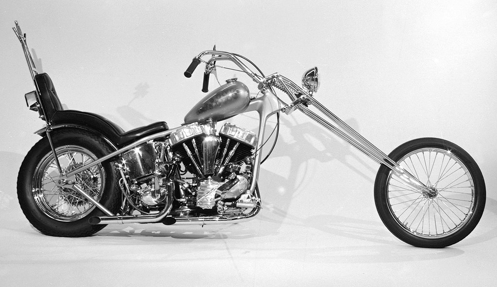 1958 Panhead Chopper