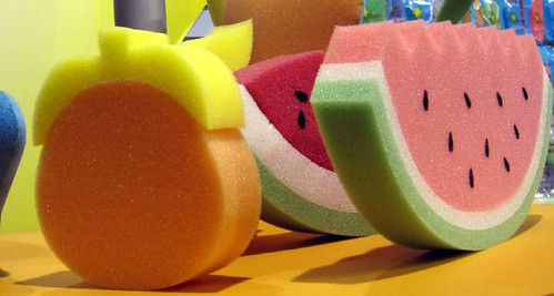 sponge pear