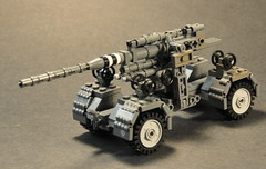Flak 88 transport carriage (The Ranger of Awesomeness) Tags: lego wwii moc brickarms