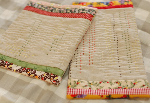 Sashiko petit quilt