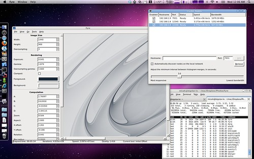 Rendering some wallpaper for my MacBook Pro