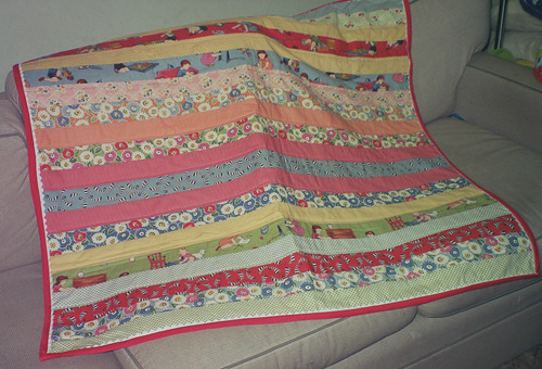 jelly roll strip quilt