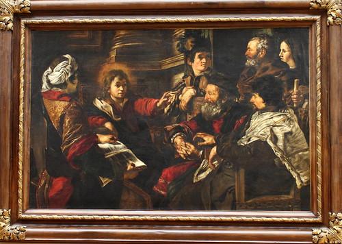 Giovanni SERODINE, Le Christ parmi les docteurs, 1626