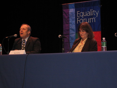 2010 John Culhane blogs from Equality Forum,  Mara Keisling: A Panel of OneIMG_1780 by Widener Law.