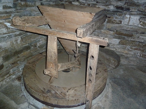 Inside Dounby Click Mill, Orkney