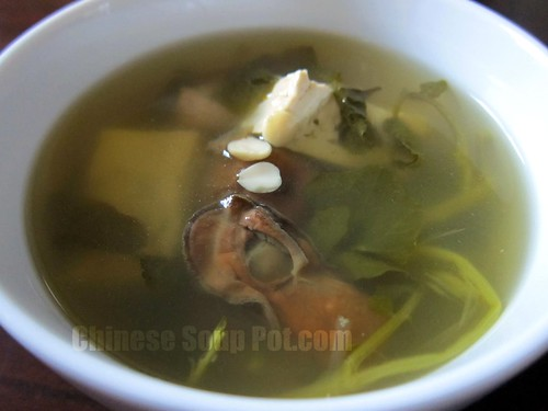 [photo-watercress tofu dried oyster soup]