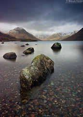 Wastwater Winter (.Brian Kerr Photography.) Tags: winter snow canon landscape nationalpark rocks lakedistrict cumbria wastwater eos5dmkii