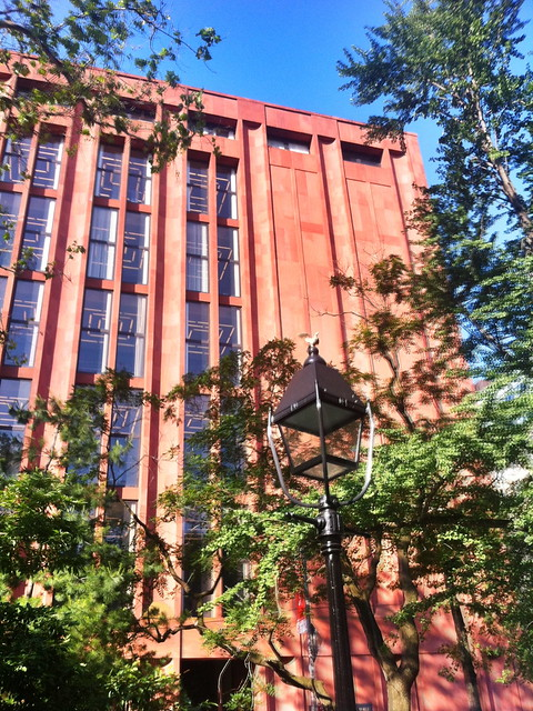 Bobst Library, home of Pip