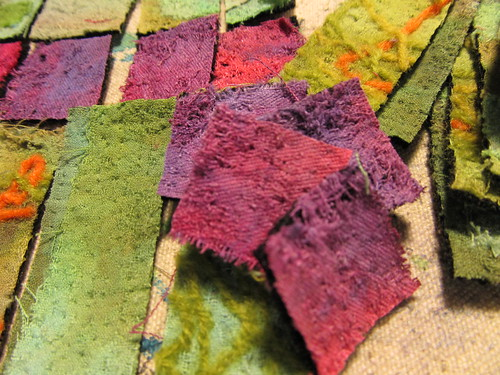 felted parts
