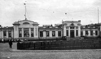 Житомир, каменный вокзал