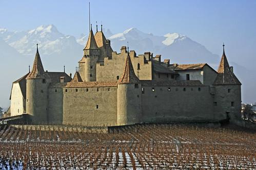 Château d'Aigle. Chablais Vaudois ,canton de Vaud, Suisse Switzerland