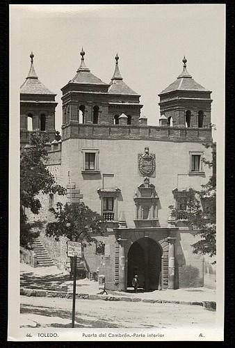 Puerta del Cambrón. Foto F.M. 1935