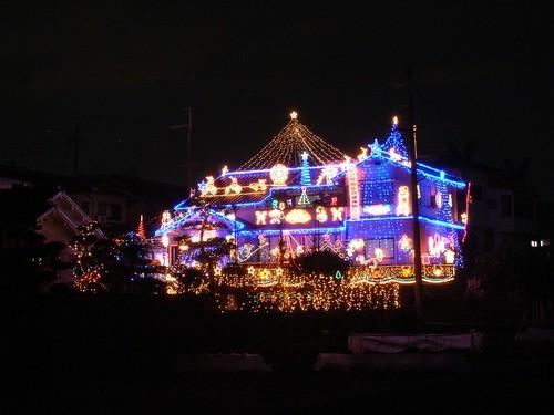 年明けのイルミネーションハウス