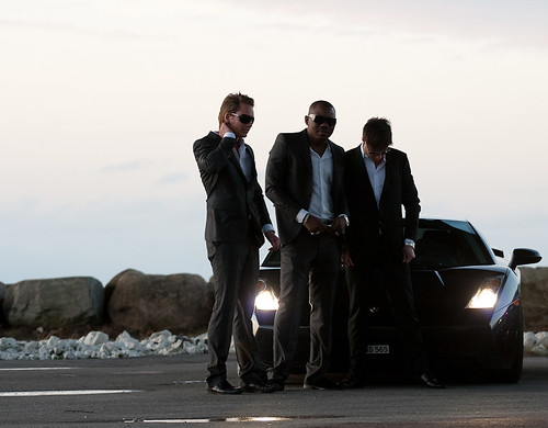 suits and lambo