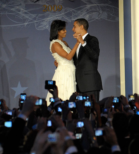 The Obamas at the Youth Ball