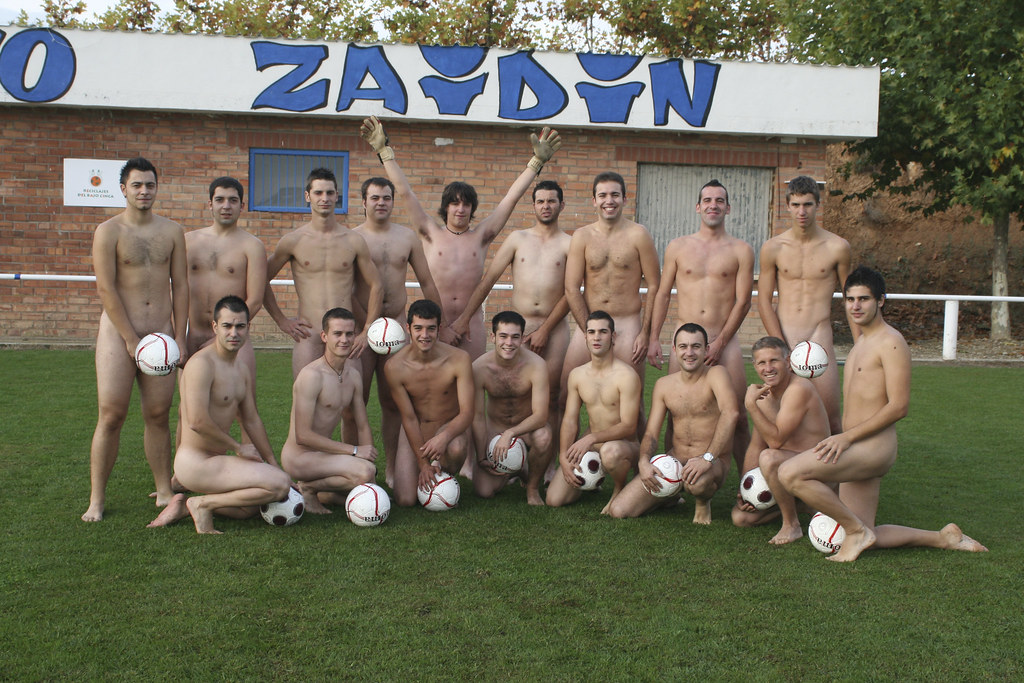 Calendario 'Al Desnudo' (2009) - Club Deportivo Zaidin