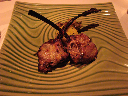Tandoori Lamb Chops