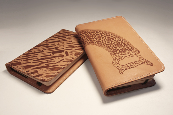 Engraved Moleskine Art
