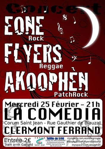 25/02/09 Concert à Comedia - Clermont-ferrand