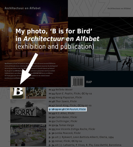My photo, 'B is for Bird' in Architectuur en Alfabet