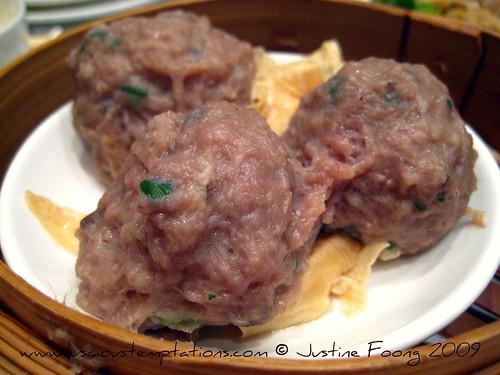 Steamed Beef Balls - Yung Kee, Hong Kong