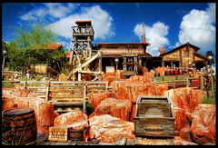 Big Thunder Mountain Railroad (Jeff_B.) Tags: train epcot disneyland disney disneyworld rollercoaster 1001nights wildwest magickingdom tumbleweed waltdisney frontierland thundermesa markdavis bej tonybaxter westernriverexpedition
