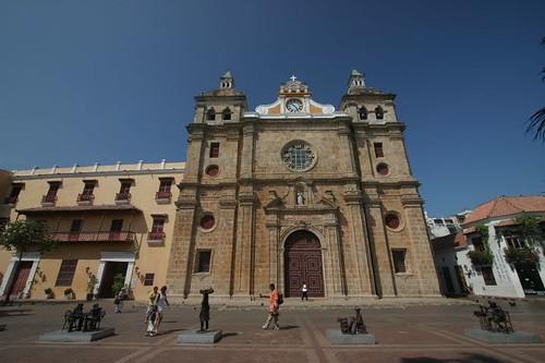 Iglesia de San Pedro Claver, Cartagena - Colombia.